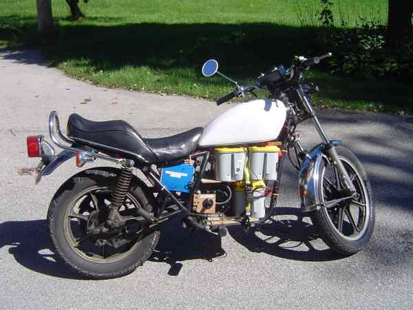 Своими руками мотоцикл