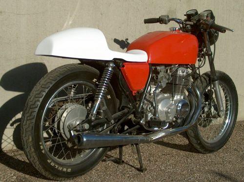 Honda CB Yamaha XS Cafe Racer Seat