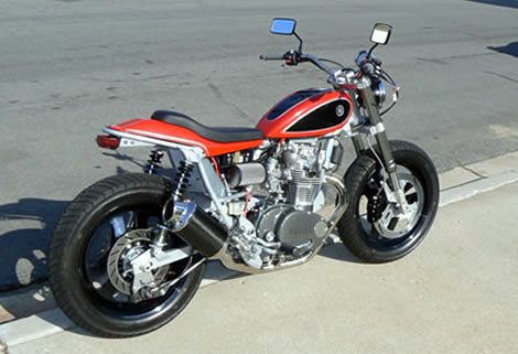 Yamaha XS 650 Street Tracker